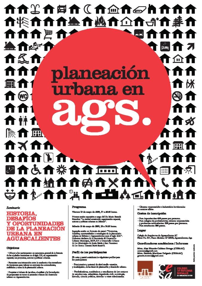 CESAAC seminario planeación urbana